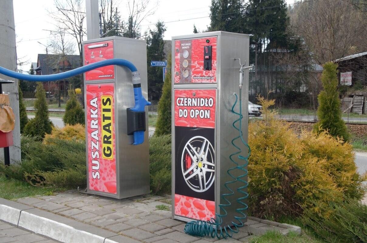 Automat Suszarka samoobsługowa na myjni gratis