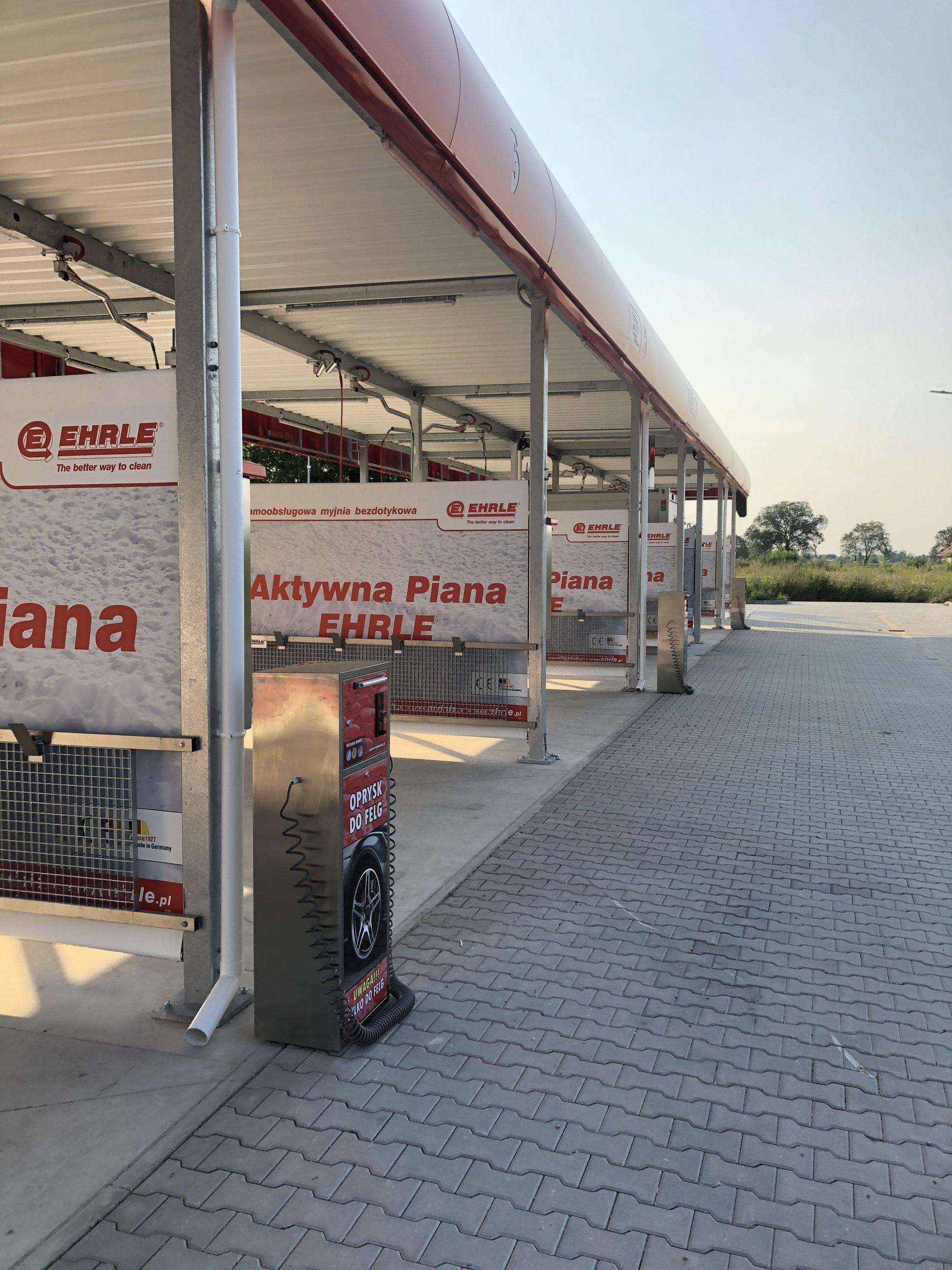 Automat do mycia felg - automaty do myjni Oława