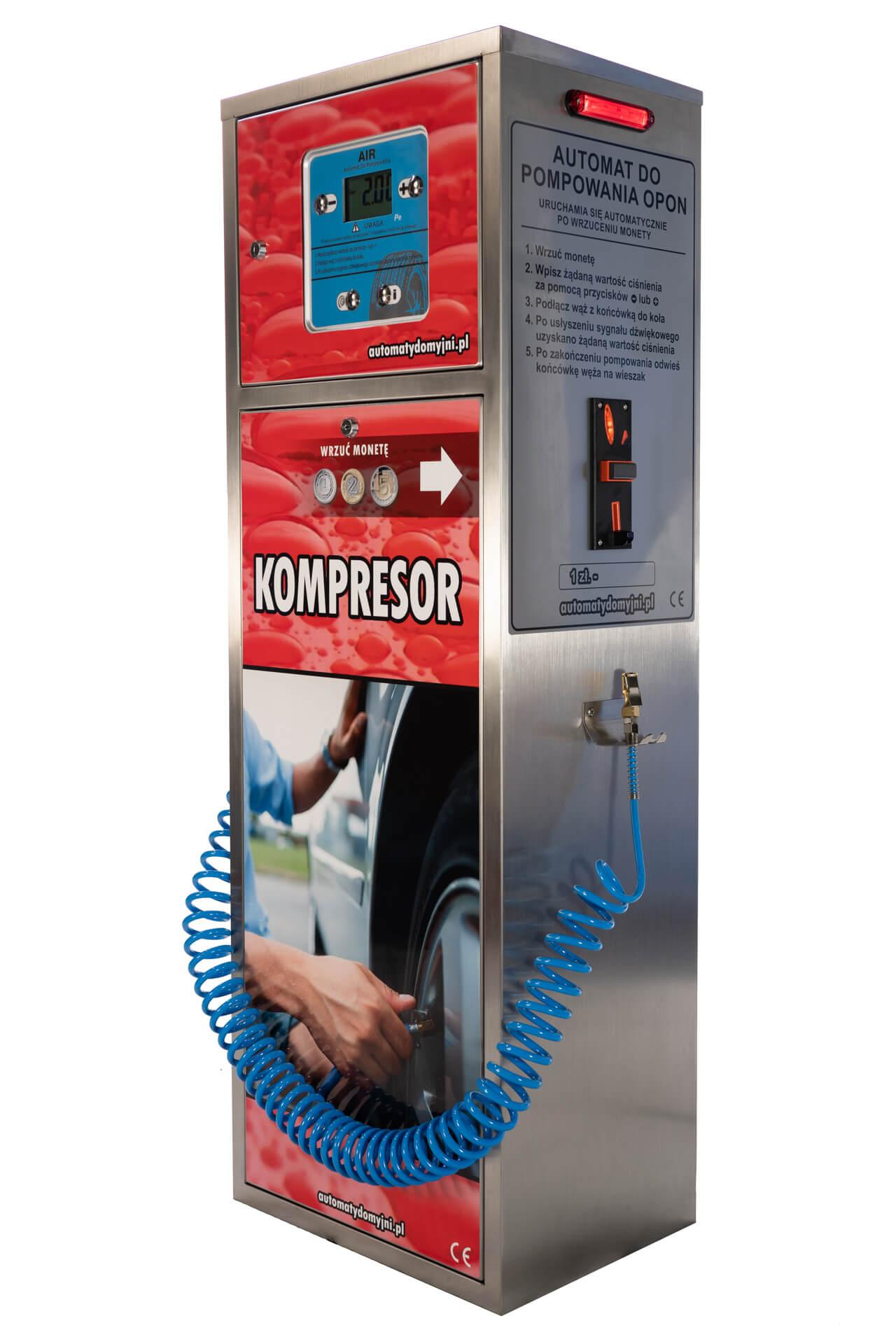 Kompresor do pompowania kół